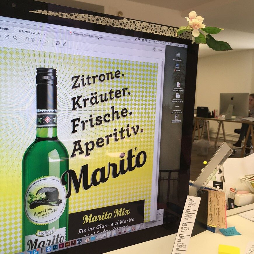 Poster Design Packaging Marito